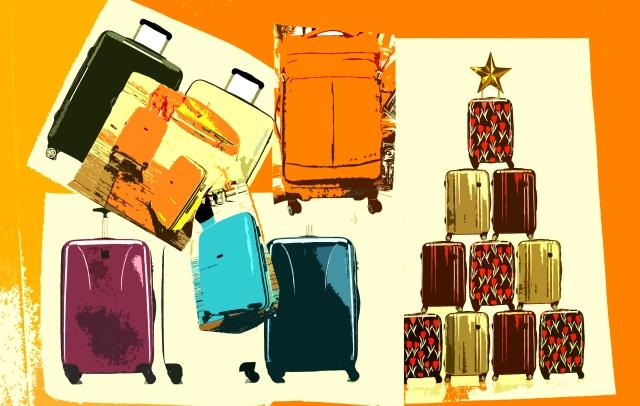 Luggage-artistic
